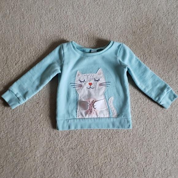 bf4d7f4e93 🐱Carter's Toddler Girl 3T Sweatshirt